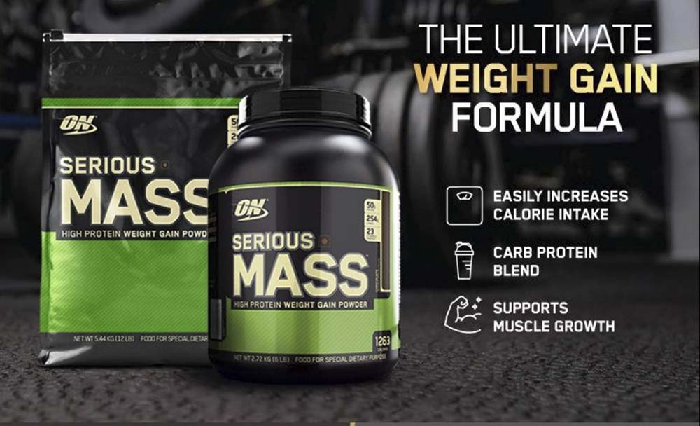 Serious Mass Gainer của Optimum Nutrition