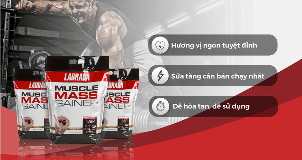 Sữa Muscle Mass Gainer